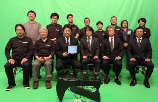浜町スタジオ再始動 2016年2月22日2時22分PM オープンの記念撮影